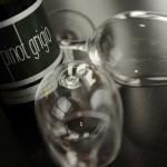 Wijn met glas